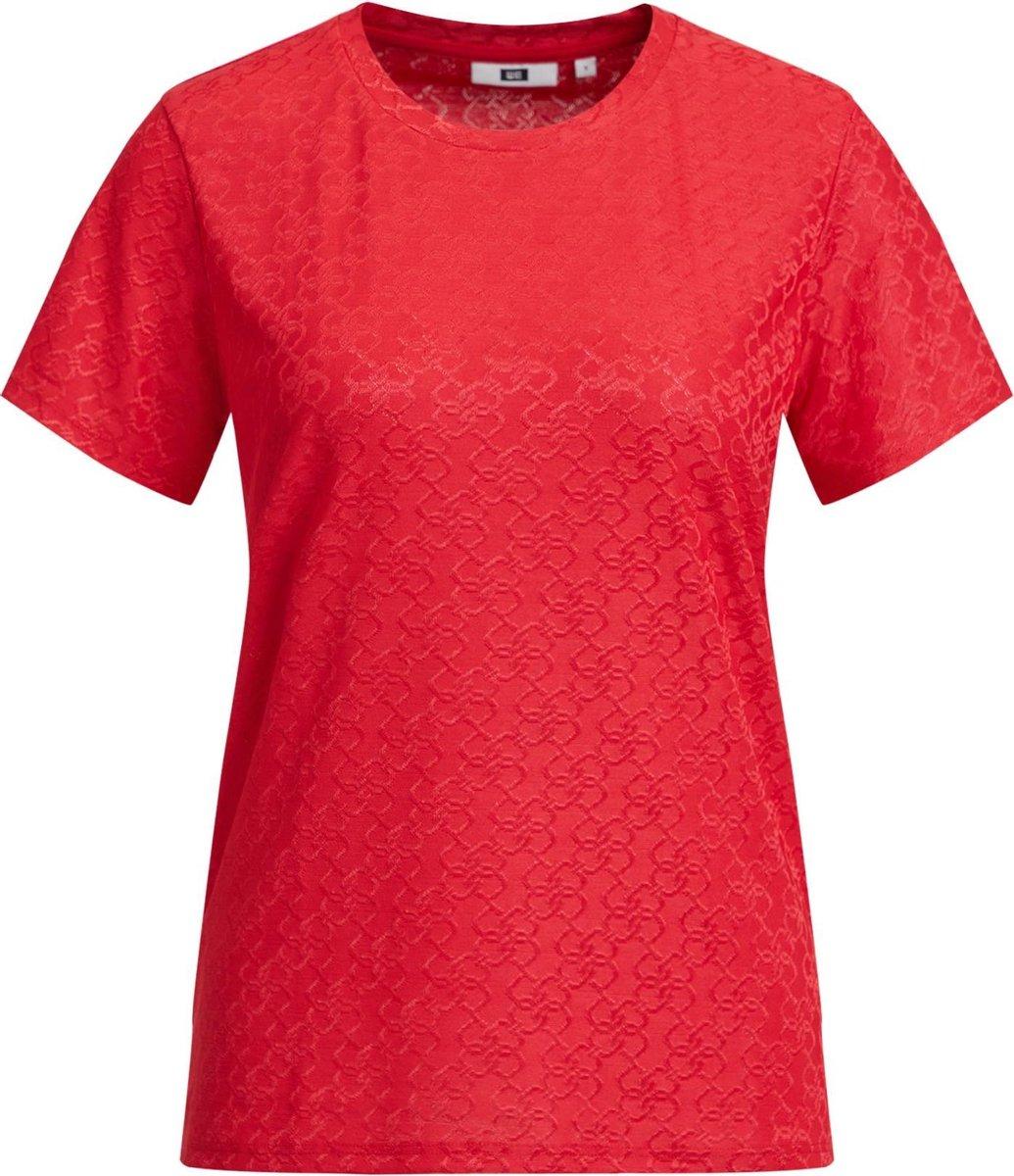 WE Fashion Dames T-shirt met kettingdessin