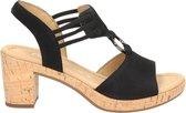 Gabor Comfort sandalen met hak zwart - Maat 37.5