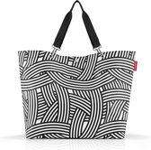 Reisenthel Shopper XL Strandtas Shopper - 35L - Zebra Zwart Wit