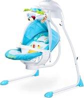 Schommelstoel Caretero Bugies blauw, geschikt voor newborns!