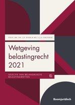 Boom Juridische wettenbundels  -   Wetgeving belastingrecht 2021