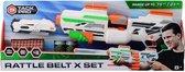 Tack Pro® Rattle Belt X set met 40 darts en accessoires, 50