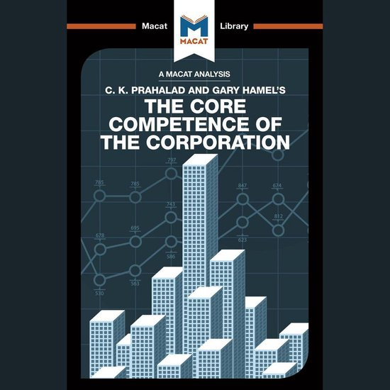 Boek cover The Macat Analysis of C. K. Prahalad & Gary Hamels the Core Core Competence of the Corporation van The Macat Team (Onbekend)