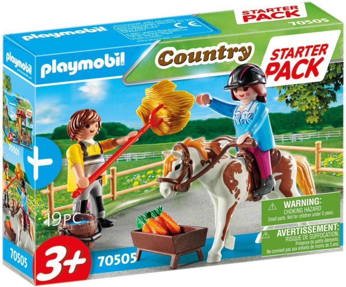 PLAYMOBIL Country Starterpack manege uitbreidingsset - 70505