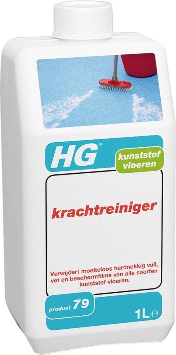 HG kunststofreiniger extra sterk - 1L - voor alle soorten kunststof vloeren