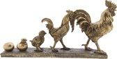 Clayre & Eef Decoratie Beeld 6PR2439 35*7*18 cm - Goudkleurig Polyresin Decoratief FiguurDecoratieve AccessoiresWoonaccessoires