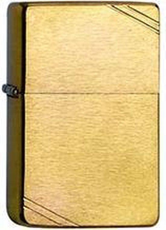 Aansteker Zippo Vintage Brass Brushed
