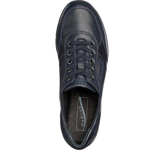 Medicus Dames Donkerblauwe Leren Sneaker - Maat 36.5 ChSO1Z