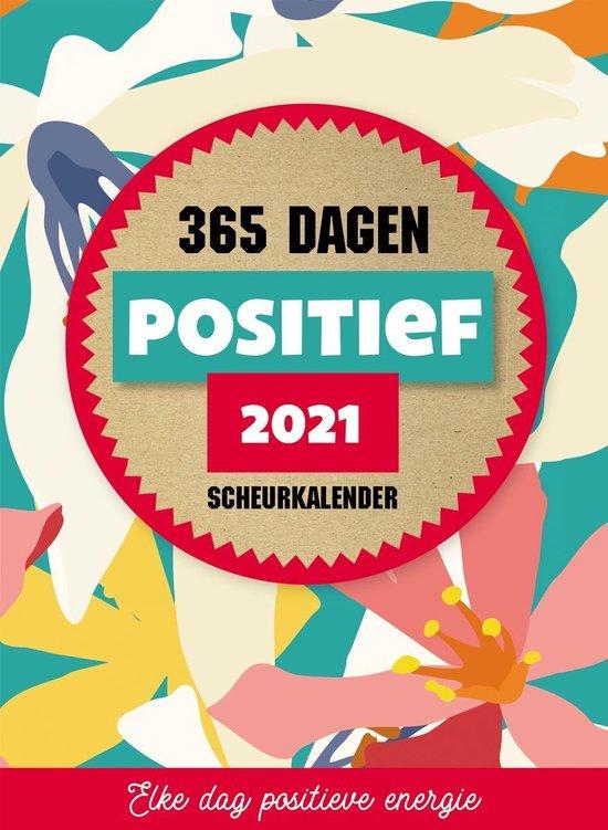 Afbeelding van 365 Dagen Positief Scheurkalender 2021