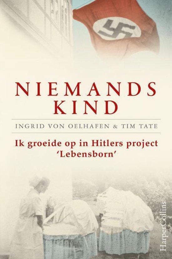Boek cover Niemands kind van Ingrid Von Oelhafen (Paperback)