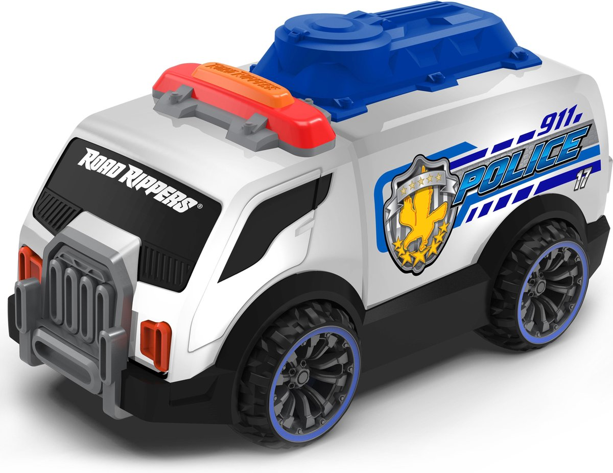 Nikko - Road Rippers Auto Rescue Flasherz: politieauto