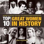 Top 10 Great Women In History | Women In History for Kids | Children's Women Biographies