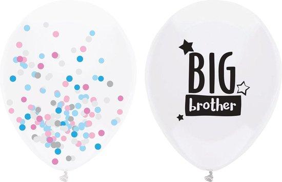 Geboorte Ballonnen Big Brother 40cm 2 stuks