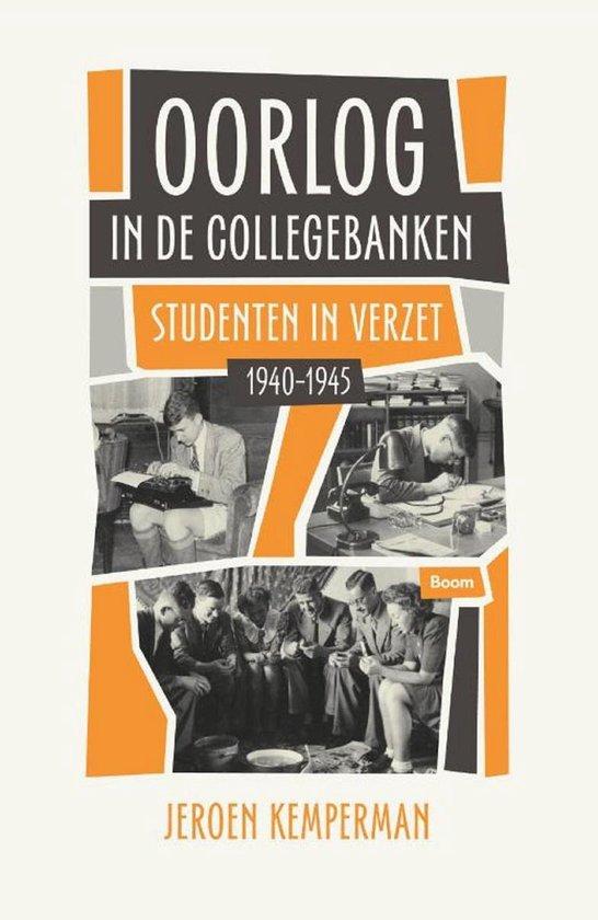 Boek cover Oorlog in de collegebanken van Jeroen Kemperman (Onbekend)