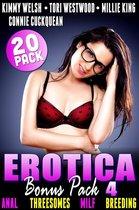 Erotica Bonus Pack 4 – Anal Threesomes MILF Breeding: 20-Pack