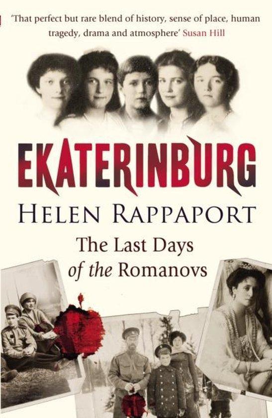 Boek cover Ekaterinburg van Helen Rappaport (Onbekend)