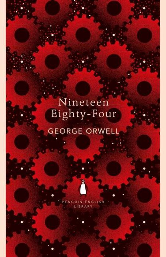 Boek cover Nineteen Eighty-Four van George Orwell (Paperback)