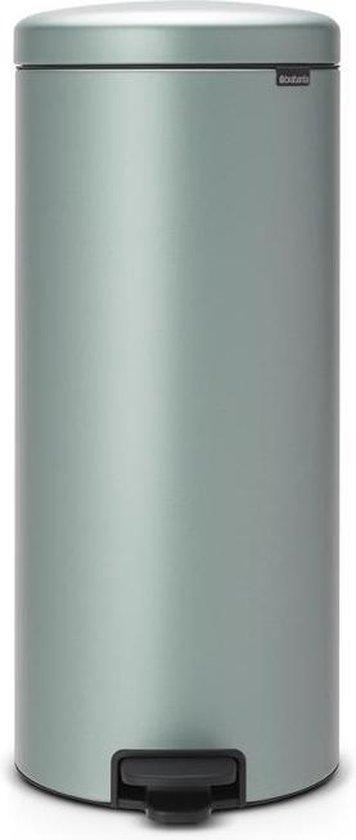 Brabantia newIcon Prullenbak - 30 l - Metallic Mint