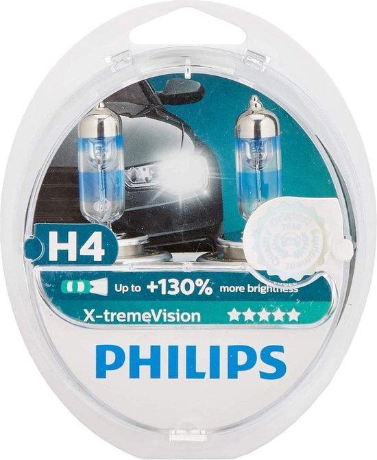 Philips X tremeVision Auto Koplamp H4 12V 5560W 2 Stuks
