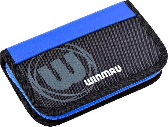 Thumbnail van een extra afbeelding van het spel Winmau Urban Pro dartcase blauw - 18 x 11 x 3 cm