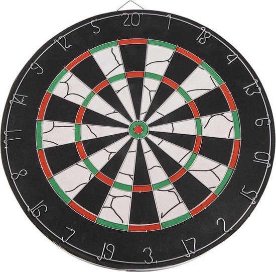 Afbeelding van het spel SportX Dartbord 45 cm met 6 Darts
