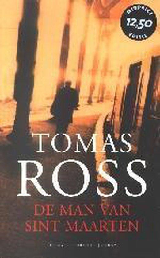 Cover van het boek 'De man van Sint Maarten / Midprice' van Tomas Ross