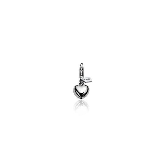 Zinzi Bedel CHARMS1 - Zilver  - Hart