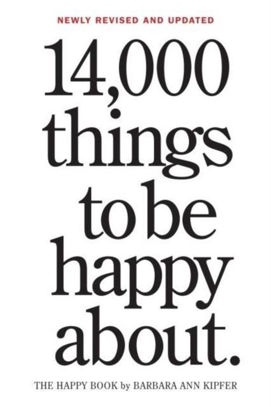 14000 Things to Be Happy About (Rev.Updated)