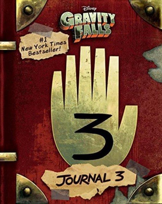 Boek cover Gravity falls: journal 3 van Alex Hirsch (Hardcover)