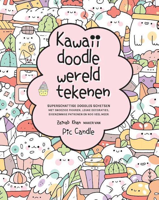 Boek cover Kawaii doodle wereld tekenen van Zainab Khan (Paperback)