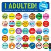 I Adulted! 2020-2021 Calendar