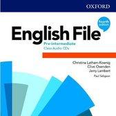 English File - Pre-intermediate (fourth edition) Class audio-cd's