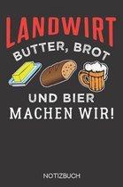 Landwirt - Butter, Brot und Bier machen wir!