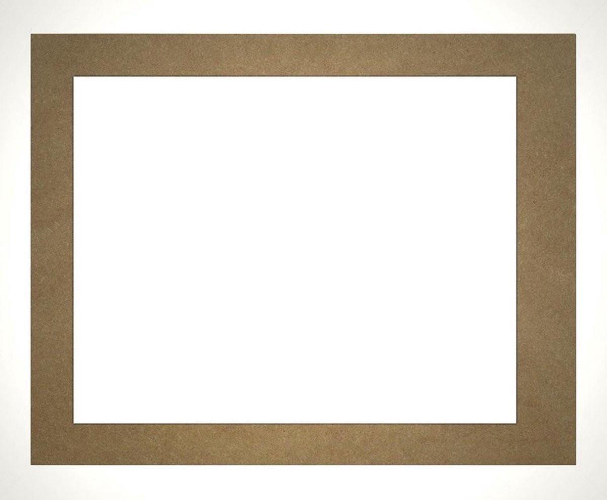 Homedecoration Misano – Fotolijst – Fotomaat – 31 x 54 cm  – Wit hoogglans