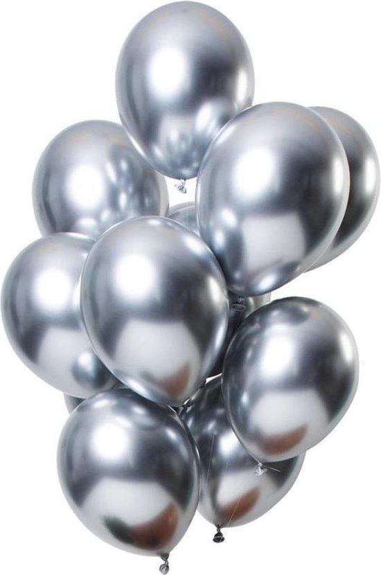 Ballon no. 11 platinum zilver