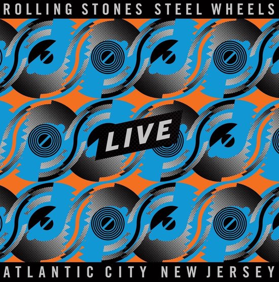 CD cover van Steel Wheels Live (4LP) (Coloured Vinyl) van The Rolling Stones