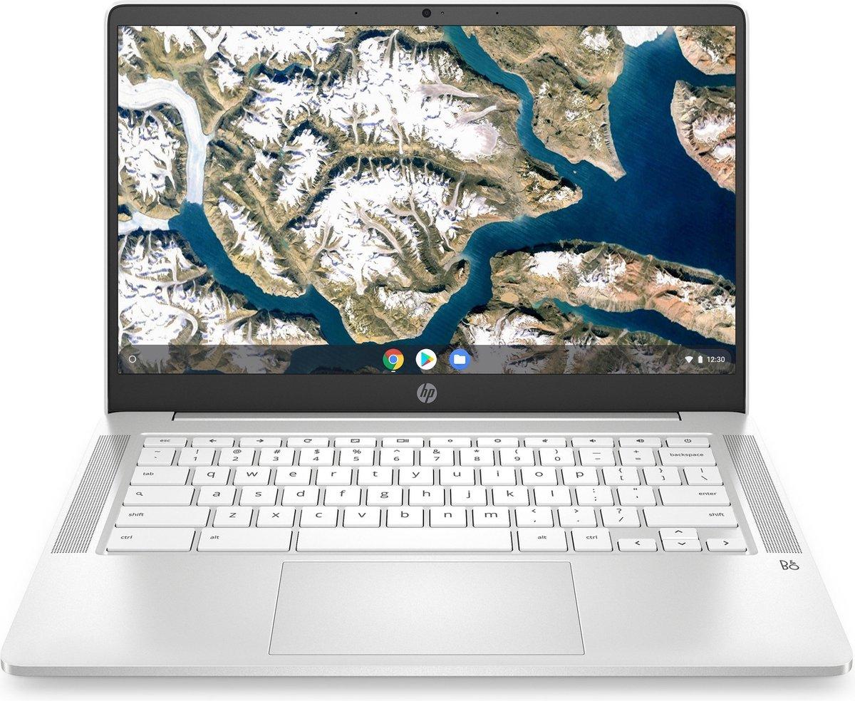 "HP Chromebook 14a-na0141nd LPDDR4-SDRAM 35,6 cm (14"") 1920 x 1080 Pixels Intel® Celeron® 4 GB 64 GB eMMC Wi-Fi 5 (802.11ac) Chrome OS Zilver"