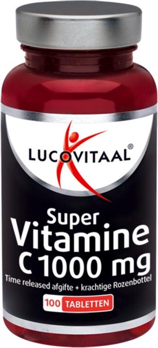 Lucovitaal Super Vitamine C 1000mg Time Released Voedingssupplement - 100 tabletten