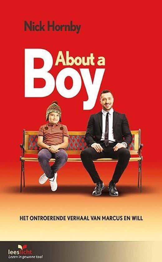 Boek cover Leeslicht  -   About a boy van Nick Hornby (Paperback)