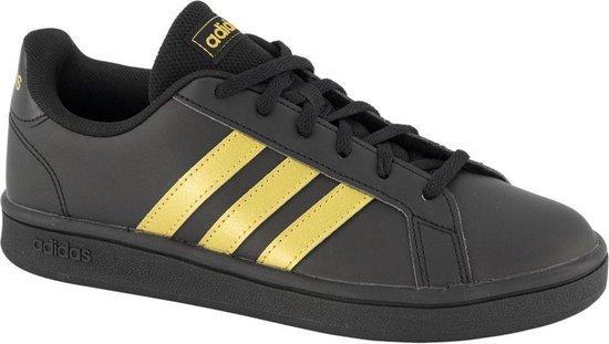adidas Zwarte Grand Court Base – Maat 39 1/3