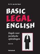 Basic legal English Engels voor juridische opleidingen- ERK B1-B2