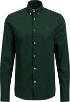 WE Fashion Heren slim fit overhemd van soft touch kwaliteit - Maat XL