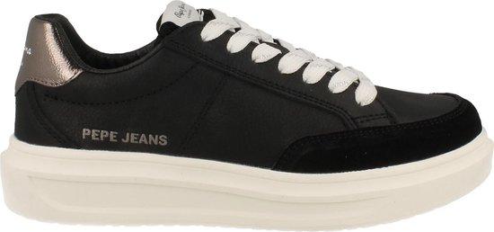 Pepe Jeans Sneaker Laag Dames Abbey Top - Zwart | 36