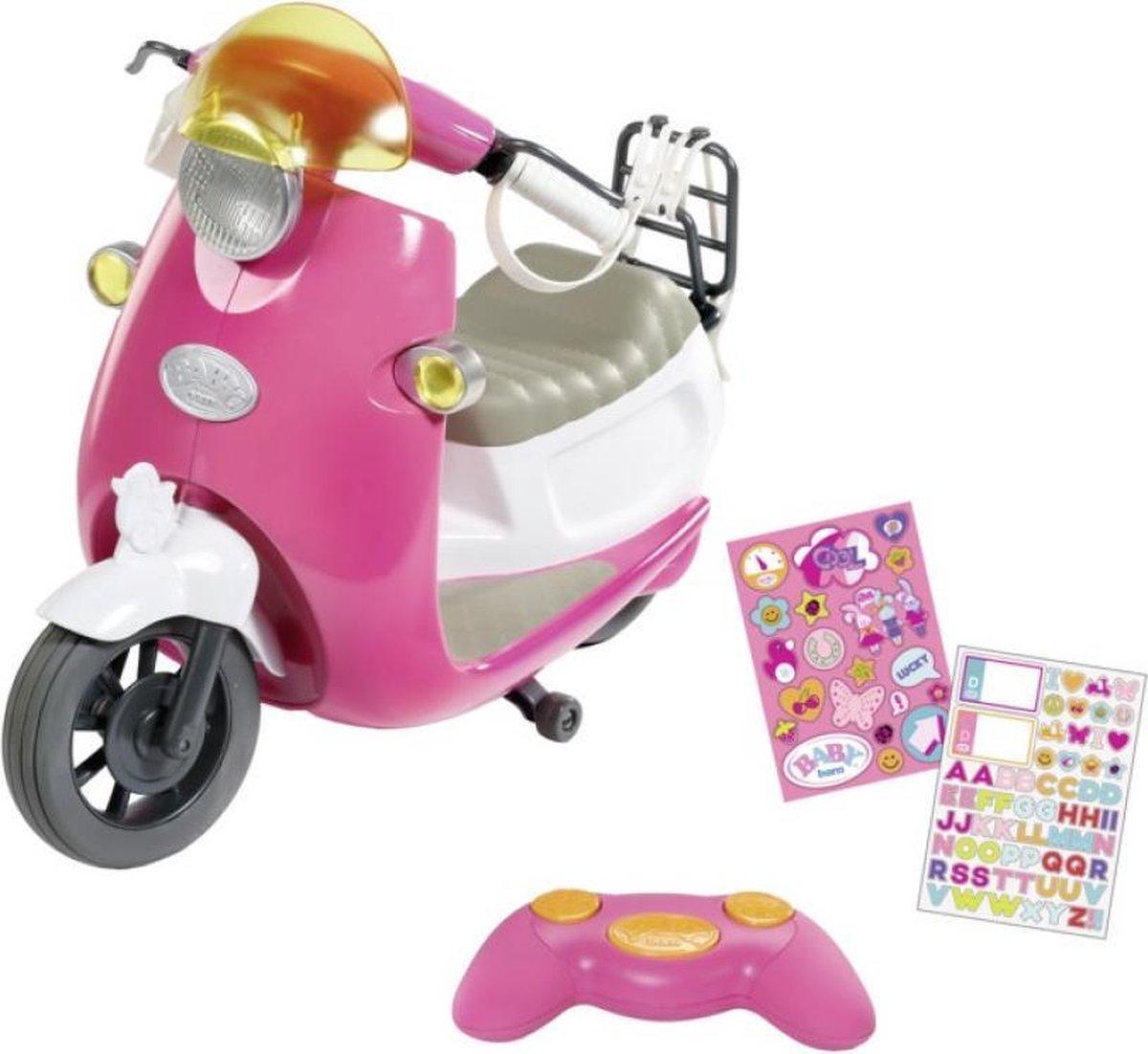 @BABY born City Scooter - RC op afstand bestuurbaar