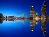 Diamond Painting Skyline Rotterdam Erasmusbrug 60x80 (Volledige bedekking - Vierkante steentjes)
