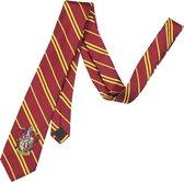 Harry Potter Gryffindor Geweven Logo Necktie Stropdas Rood / Goud