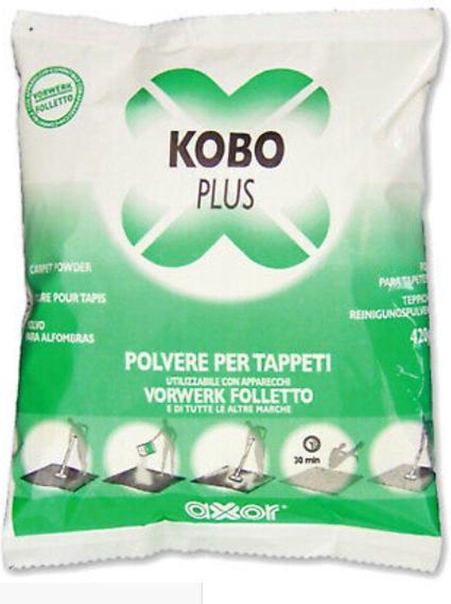 Vorwerk Kobo plus tapijtreiniger poeder – 420gr – reiniging tapijt poeder reiniger Universeel