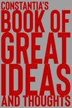 Constantia's Book of Great Ideas and Thoughts