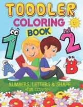 Fun Activity Toddler Coloring Book