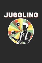 Juggling: 6x9 Juggling - dotgrid - dot grid paper - notebook - notes